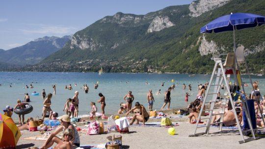 Où se baigner à Annecy?